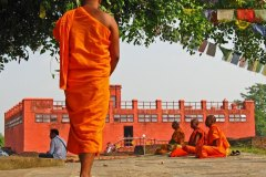 Στον τόπο όπου γεννήθηκε ο Βούδας στο σημερινό Νεπάλ.